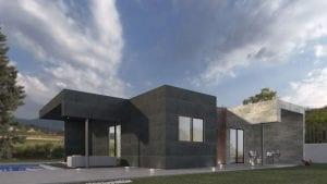 diseño de casa prefabricada en España