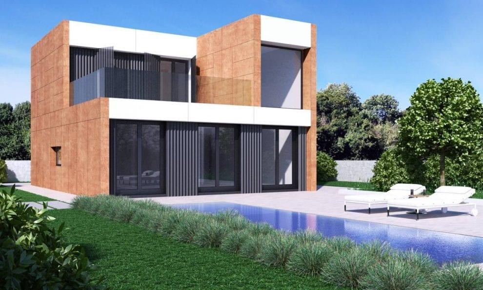 Casas prefabricadas en madrid vida modular - Casas modulares madrid ...