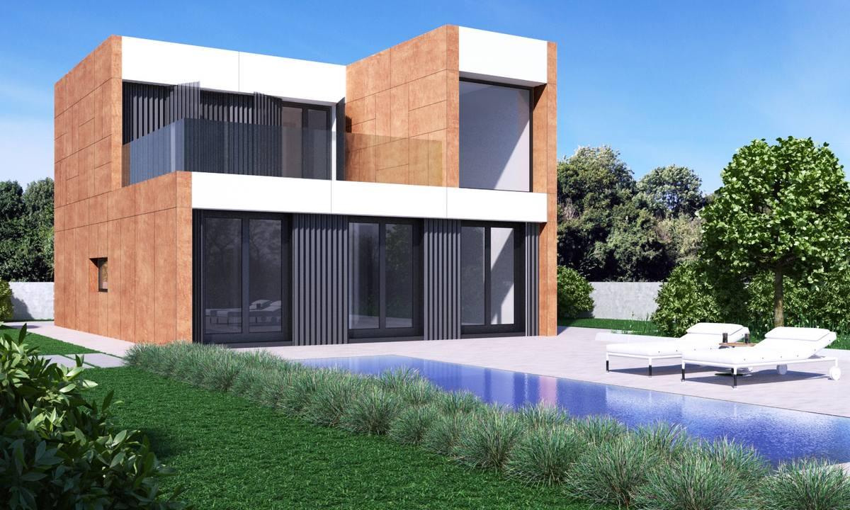 proyecto de casa prefabricada modular en Alcorcón, Madrid