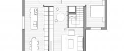 plano de casa prefabricada en madrid