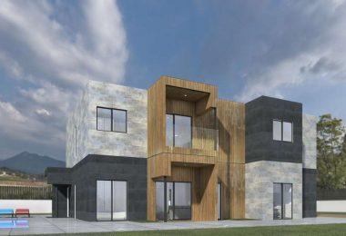 Ejemplo de diseno de casa modular moderna