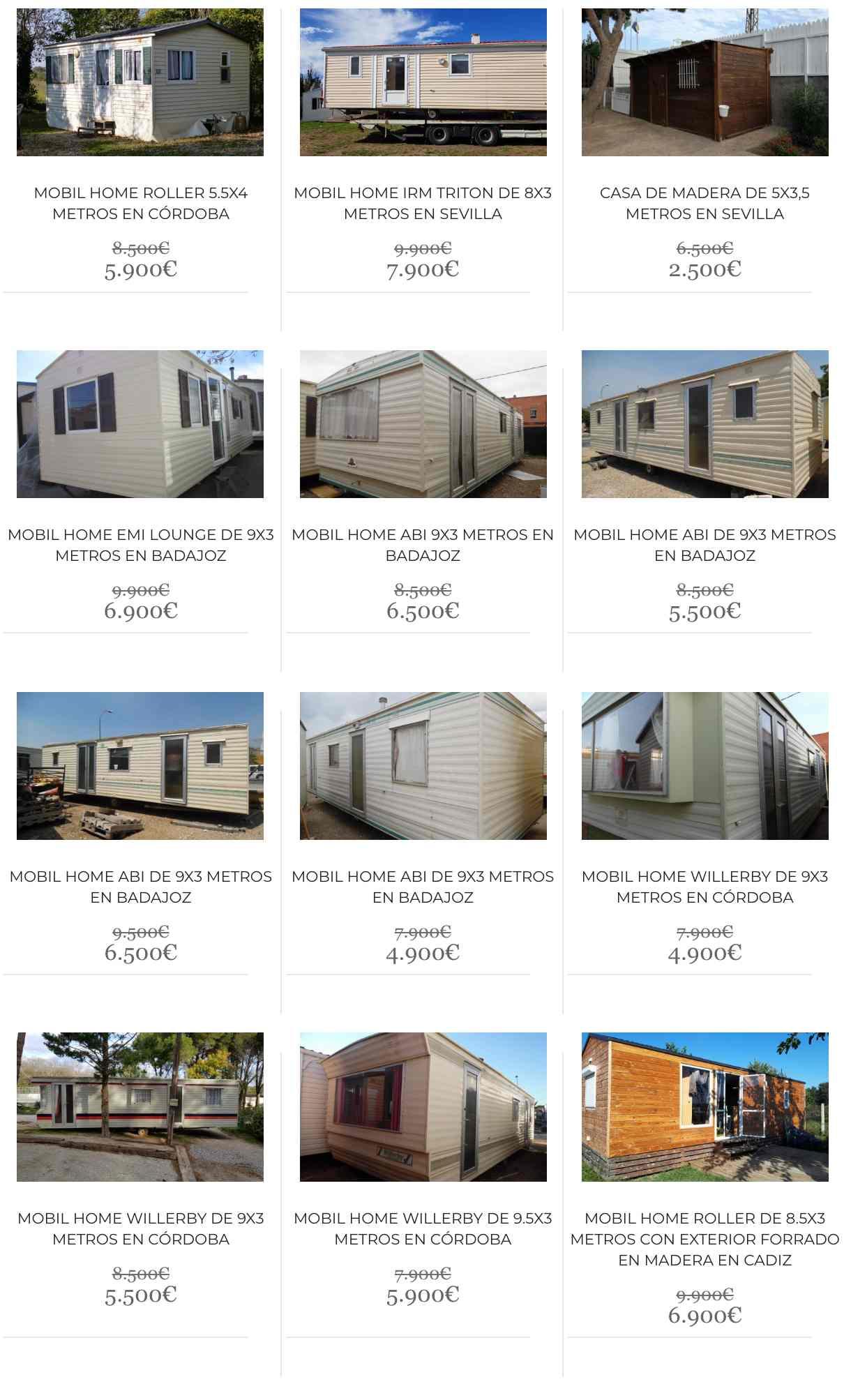 Oferta de casas prefabricadas baratas