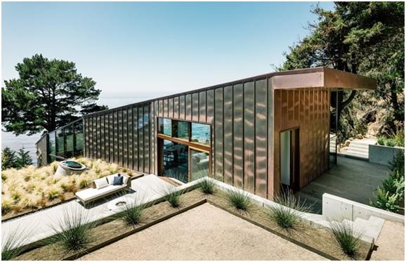 casa sostenible fall house