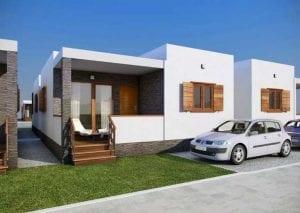 Casas modulares baratas económicas