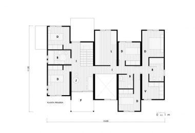 plano de casa moderna
