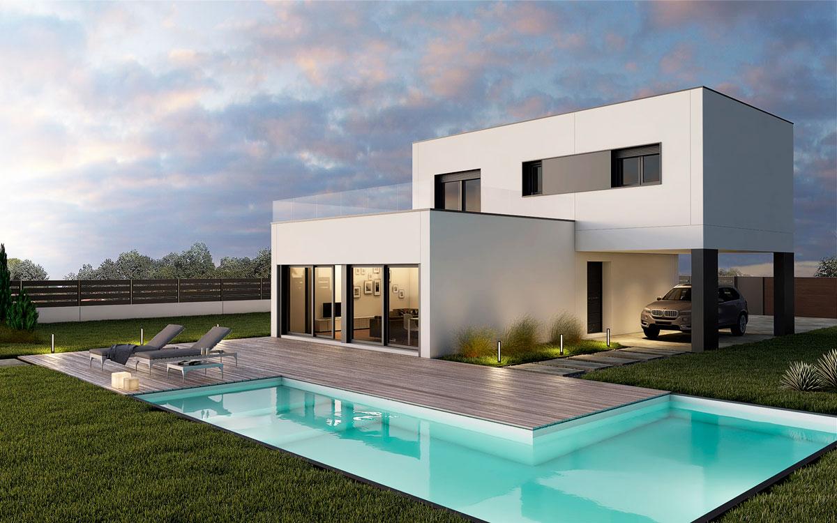Casas prefabricadas en asturias vida modular - Precios de casas prefabricadas de hormigon ...