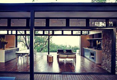 salon de casa prefabricada de diseno